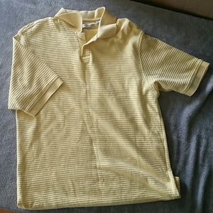 🎉SaLe🎉 Geoffrey Beene Yellow Polo Golf Shirt